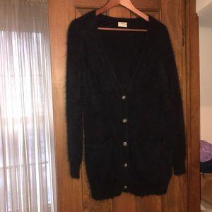 Madewell x Wallace Tunic Knit Cardigan